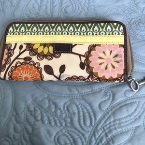 Fossil wallet key per